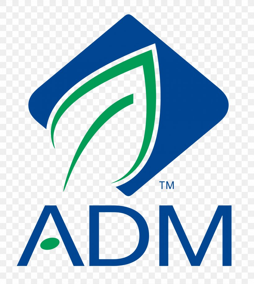 Archer Daniels Midland NYSE:ADM Company Industry Logo, PNG.