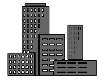 Business building clipart.