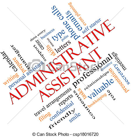 Administrative assistant clipart free.
