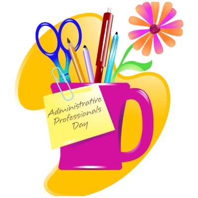 Admin Professionals Day Clipart.