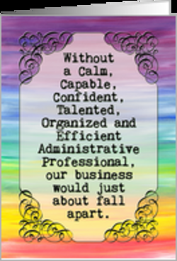 Administrative assistant Poems.
