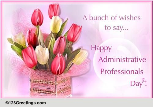 Administrative Professionals Day® Cards, Free Administrative.