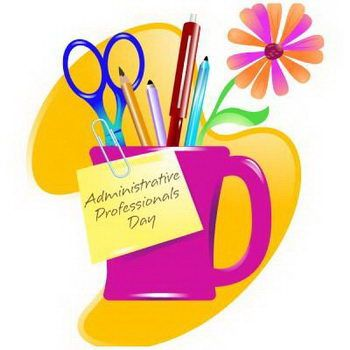 Receptionist clipart administrative professional.