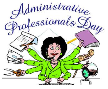 Happy Administrative Professionals Day Clip Art.