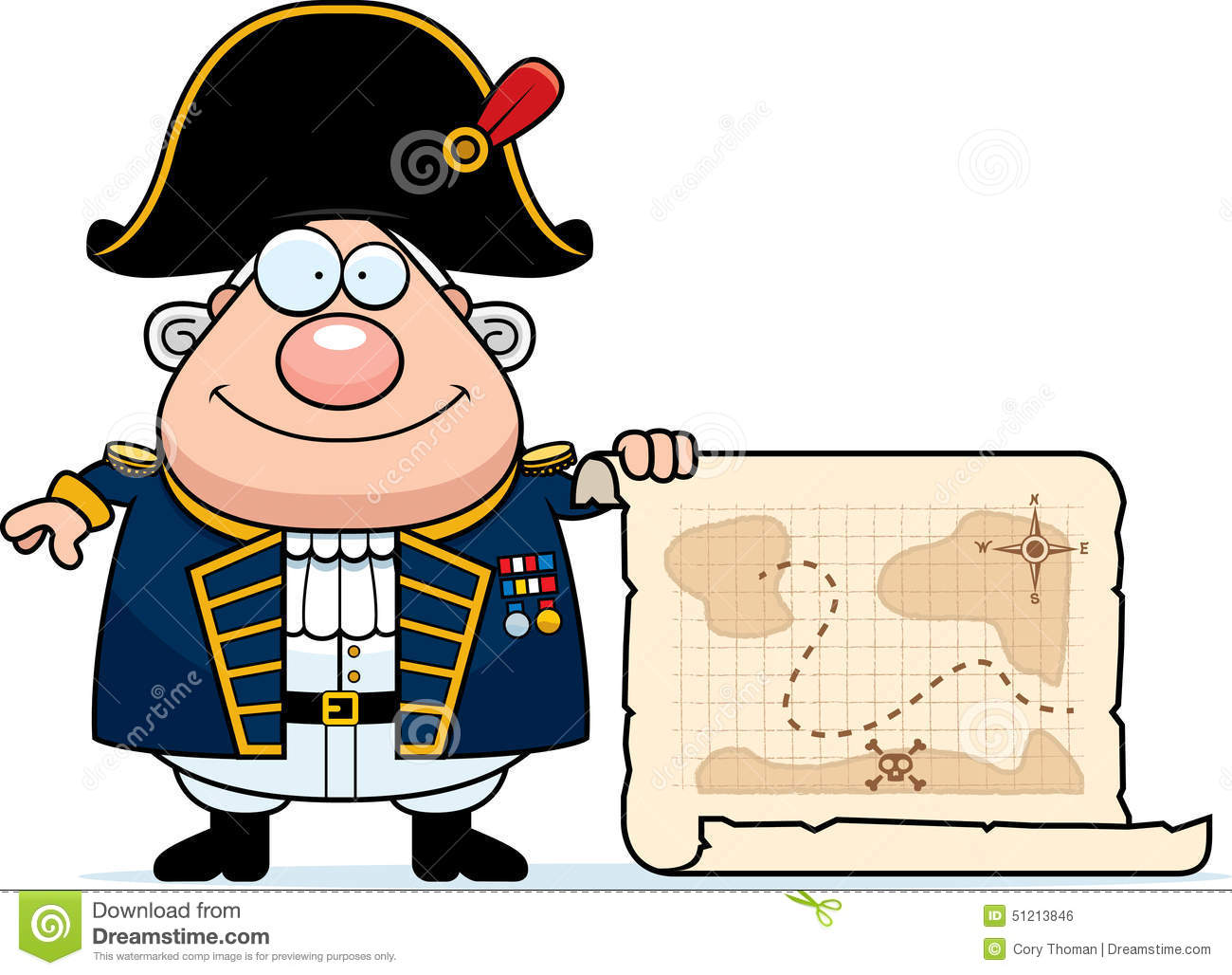 Admiral Stock Illustrations.