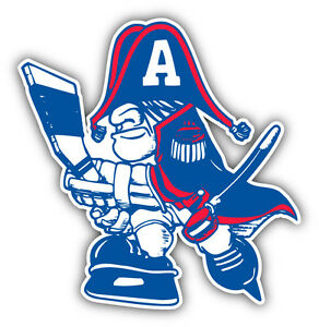 Details about Milwaukee Admirals AHL Hockey Logo Car Bumper Sticker Decal  5\'\' x 5\'\'.