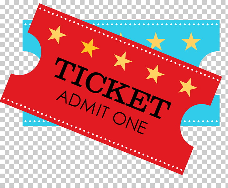 Circus Ticket Party , Circus, one red admission ticket PNG.