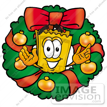 Clip Art Graphic of a Golden Admission Ticket Character in the.