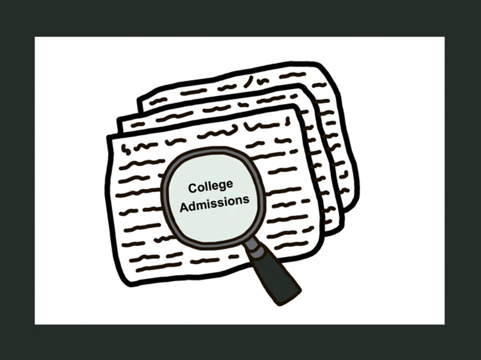 Investigating College Admission.