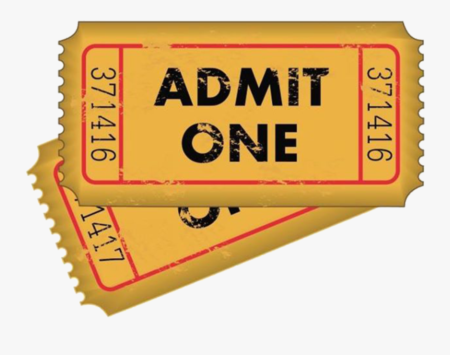 Tickets Clipart Admit One.