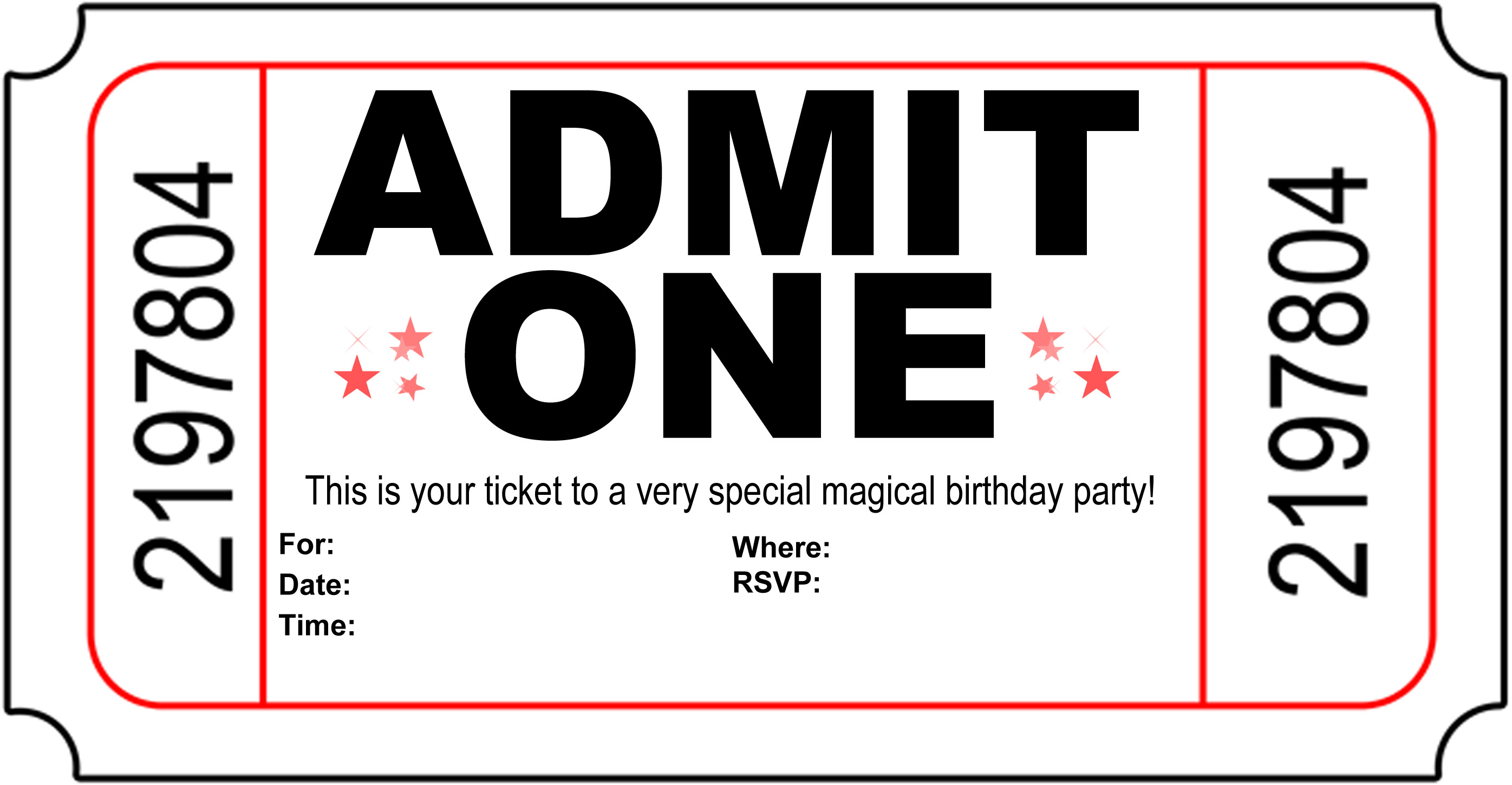 Free Ticket Template, Download Free Clip Art, Free Clip Art.