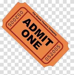 FILES, admit one ticket art transparent background PNG.