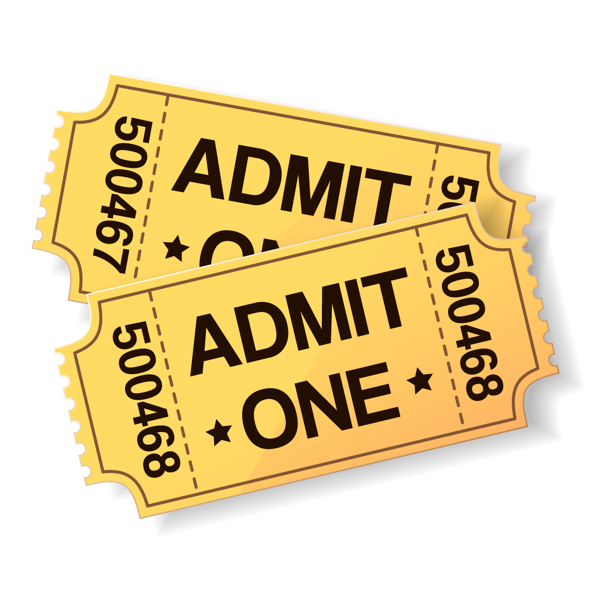 Tickets clipart game ticket, Tickets game ticket Transparent.