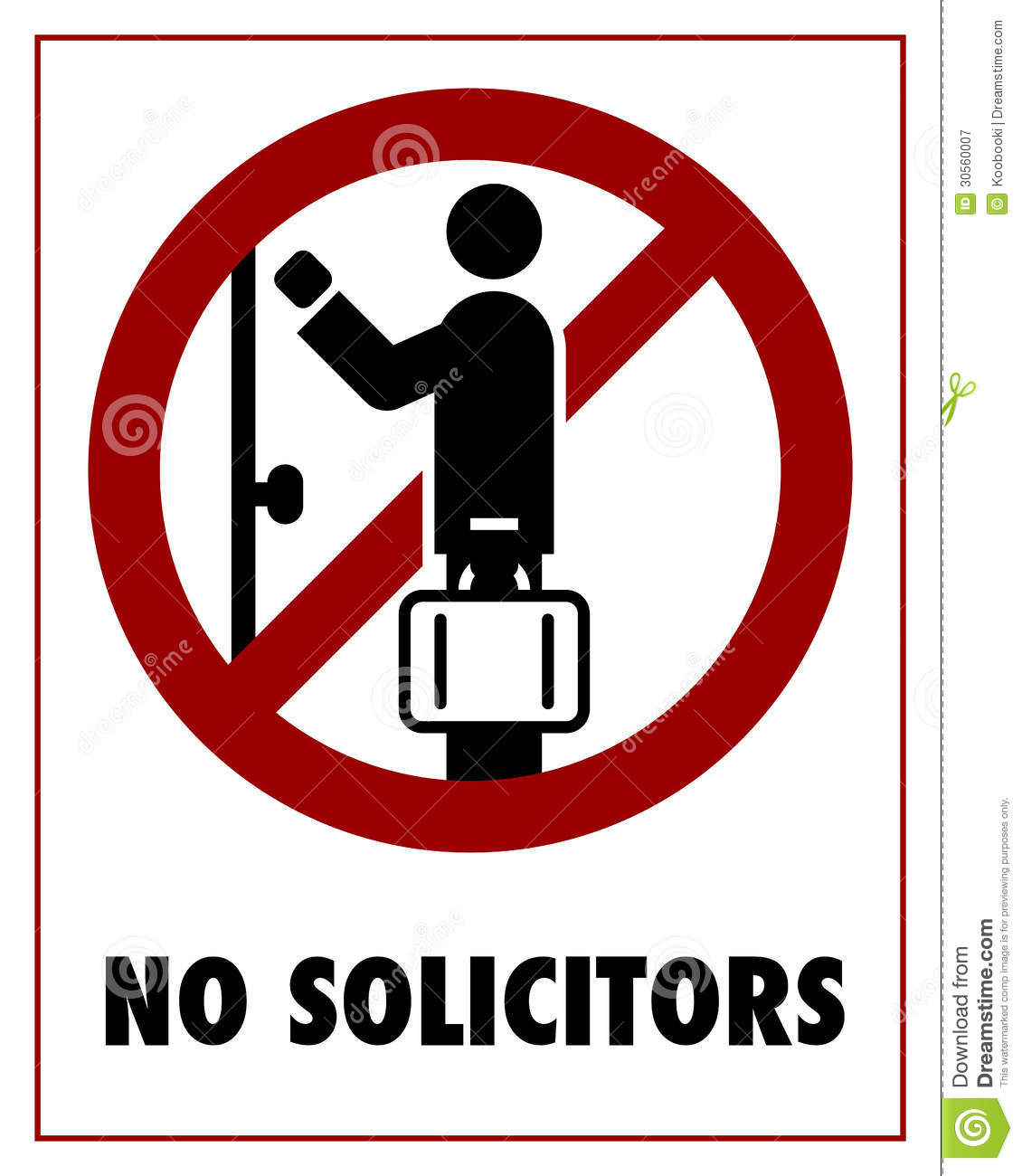 No access clip art.