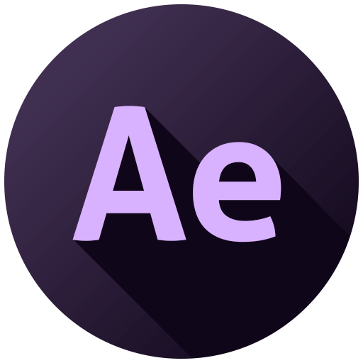 Adobe After Effects Icon.