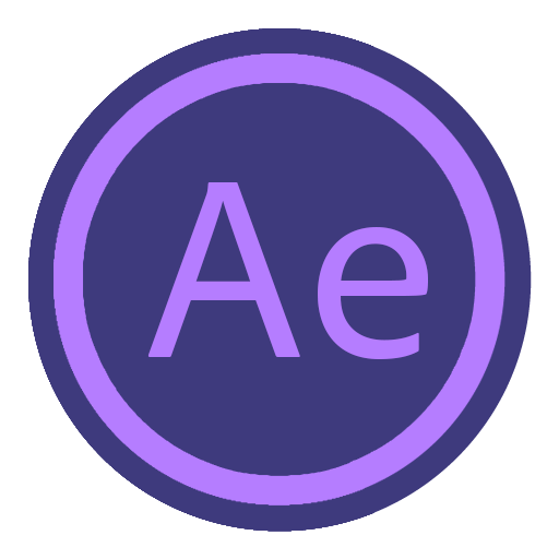 App Adobe After Effect Icon.