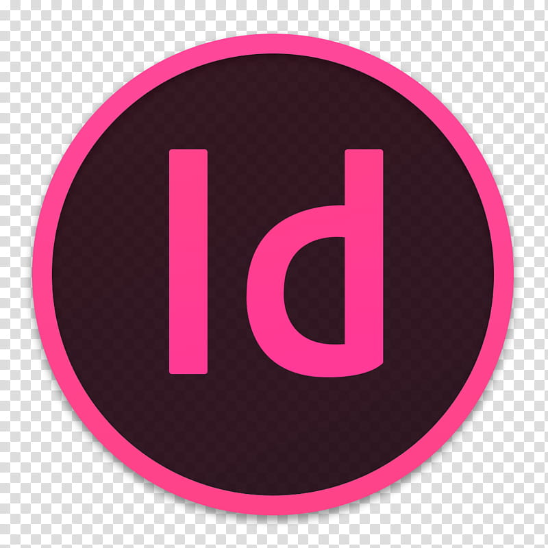 Adobe CC Icons OS X Yosemite , InDesign transparent.