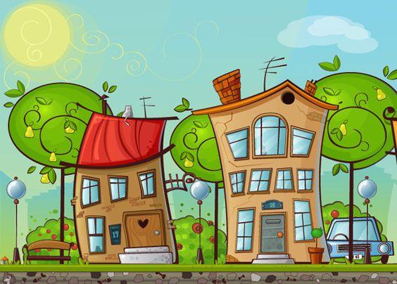 Cartoon adobe house clipart hi res.