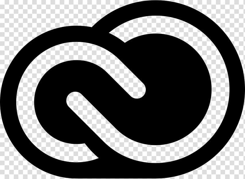 Black infinity logo , Adobe Creative Cloud Adobe Creative.