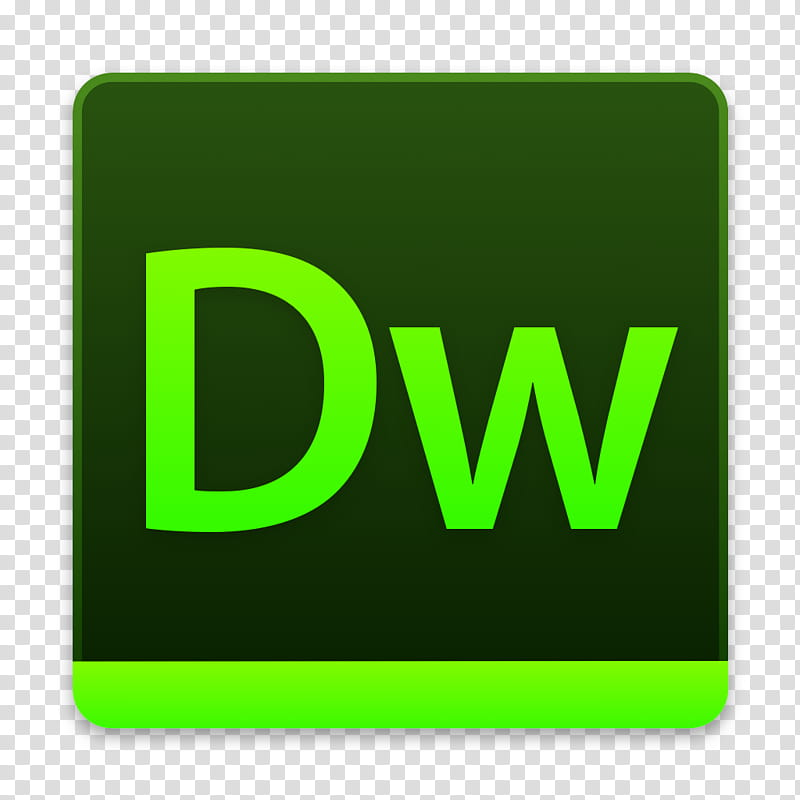 Adobe Suite for macOS , Dreamweaver transparent background.