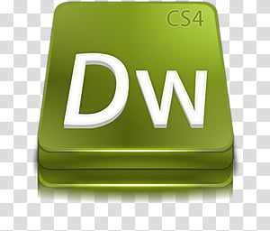 Adobe Dreamweaver CS, DW logo transparent background PNG.
