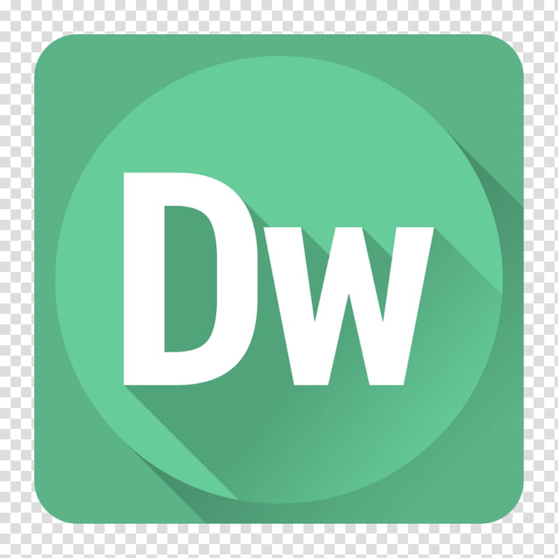 Shadow Adobe Icons, DreamWeaver transparent background PNG.