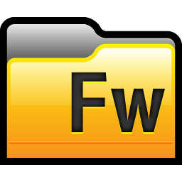 Folder Adobe Fireworks 01 Icon.