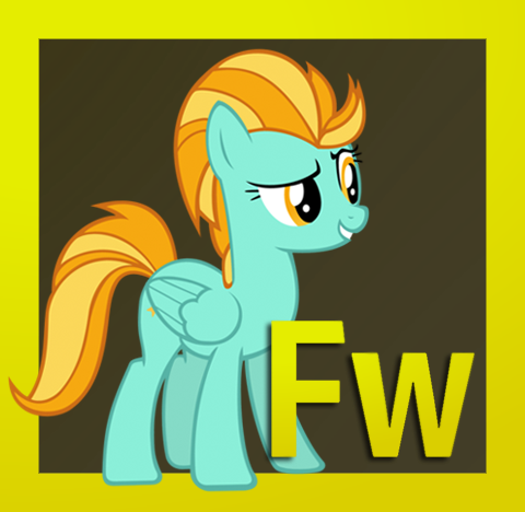 Adobe Fireworks CS6.