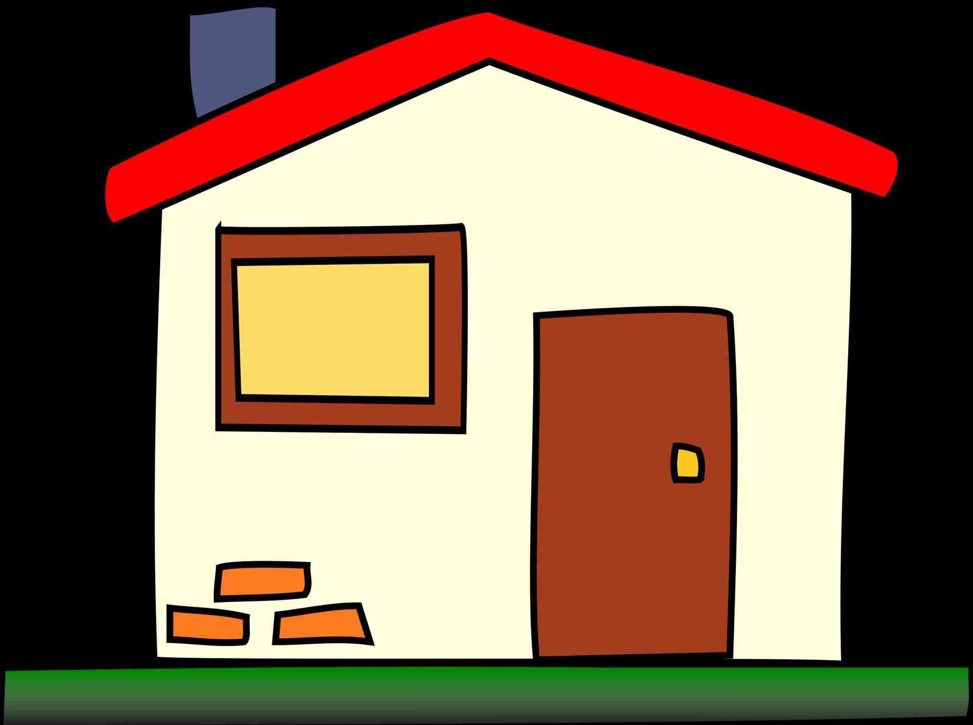 Adobe House Clipart.