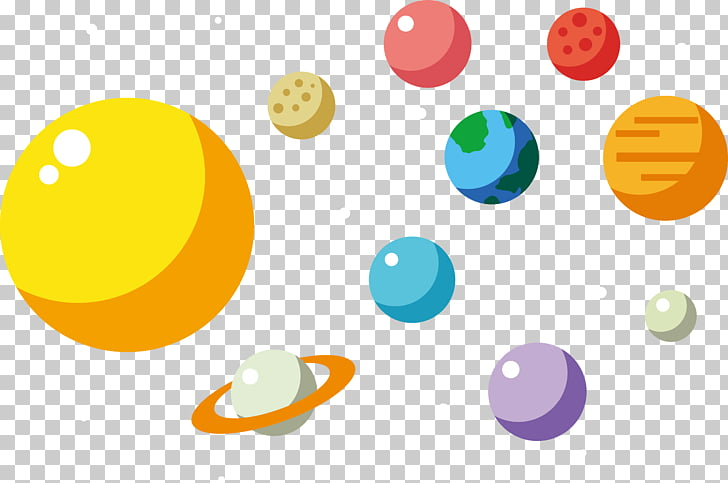Earth Adobe Illustrator , Sun galaxy , Solar System.