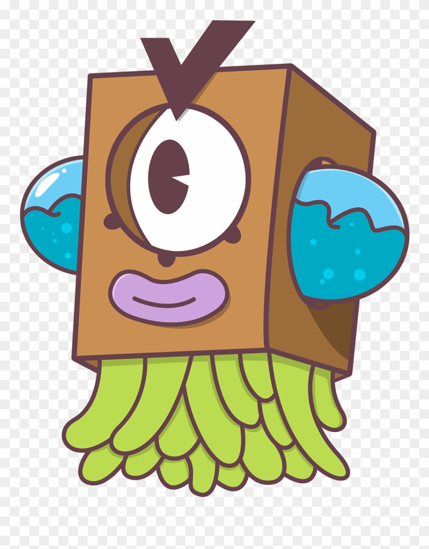 Vector Monsters Adobe Illustrator Clip Free Stock.