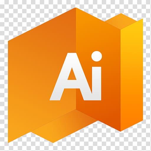 Orange and white Ai icon, Adobe Illustrator Computer Icons.