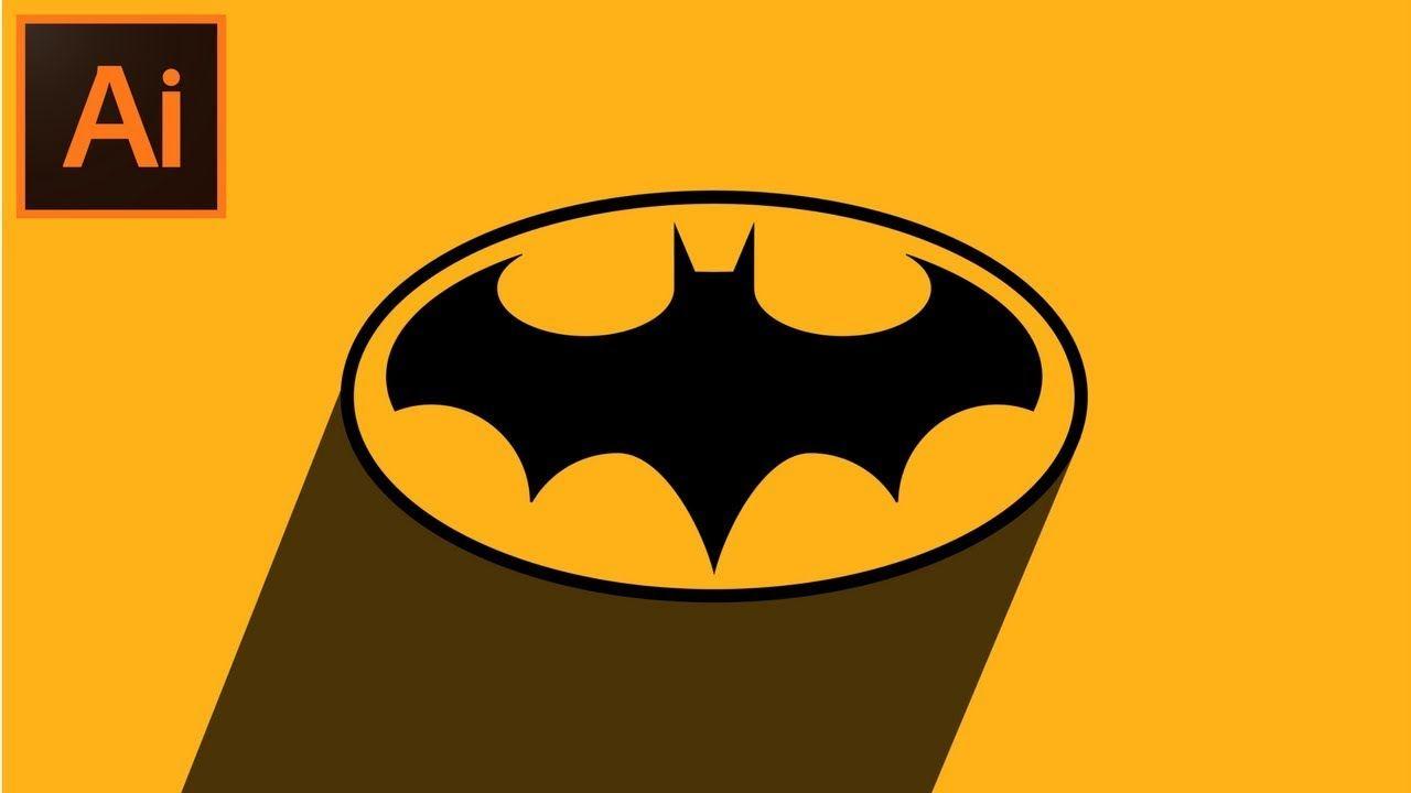 Adobe Illustrator CC Tutorial How to Make a Batman Logo.