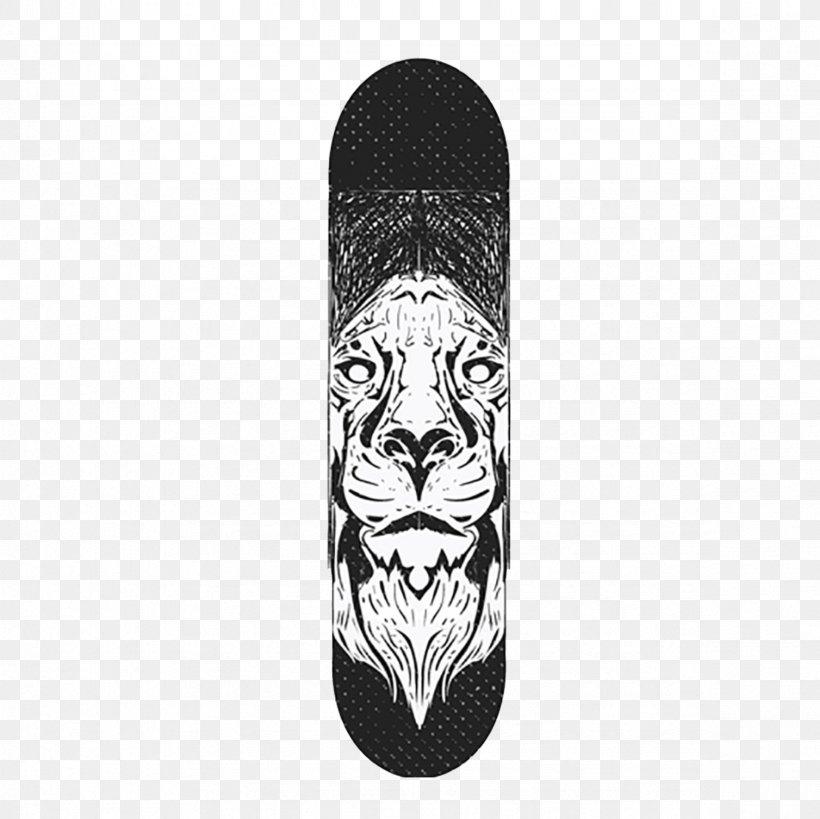 Skateboard Tiger Adobe Illustrator, PNG, 2362x2362px.