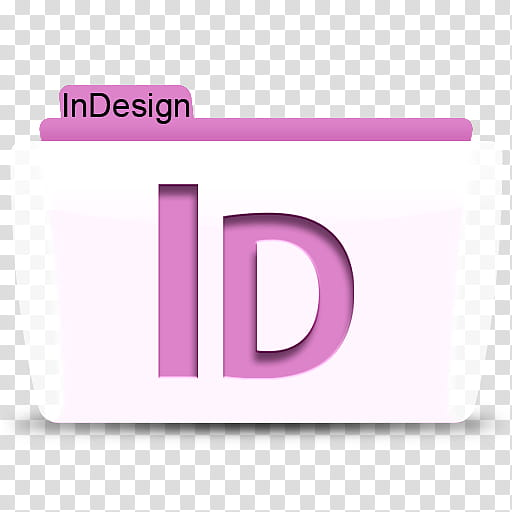 Adobe CS Colorflow Icon, InDesign transparent background PNG.