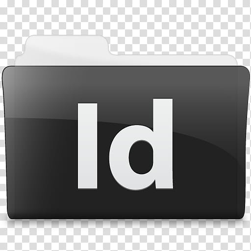 Black n White, Adobe Indesign file icon transparent.