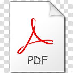 Stilrent Icon Set , PDF, Reader , Adobe logo transparent.