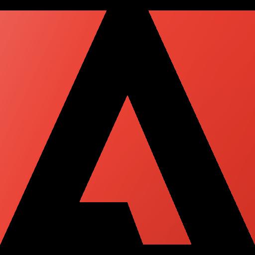 Adobe, brand, brands, logo, logos icon.
