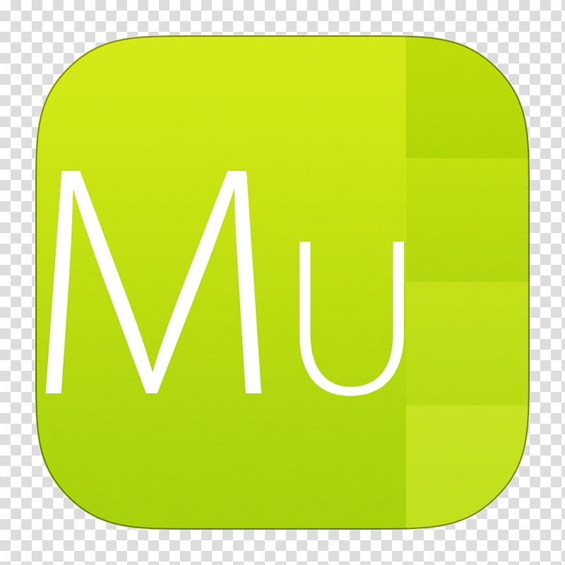 IOS Adobe Icon Set (. and .icns), Muse transparent.