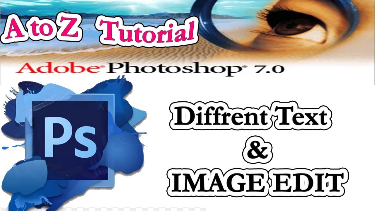 How to join two or more photos in adobe photoshop 7.0 in.