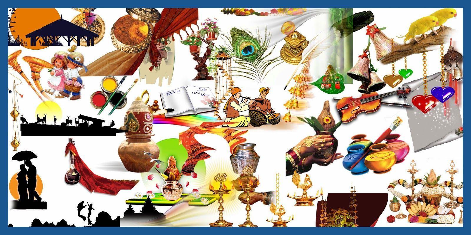 Www.NaveenGFX.com: Wedding Elements PSD File.