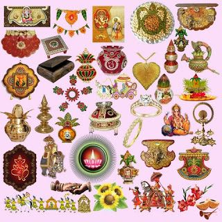 Edit Your Photos: Hindu Wedding Clipart Elements PSD in 2019.