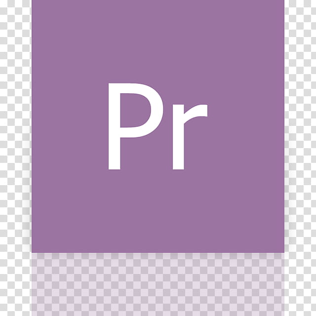 Metro UI Icon Set Icons, Adobe Premiere Pro_mirror, white Pr.