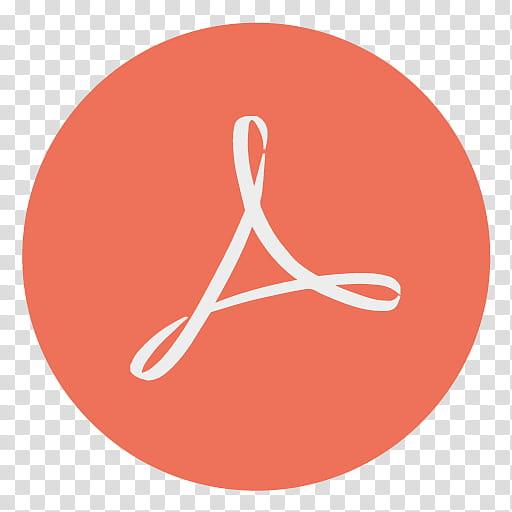 Simplynotblack, Adobe Acrobat Reader icon transparent.