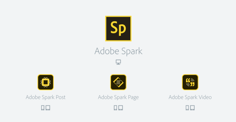 Adobe Spark helps anyone build great websites, videos or flyers.
