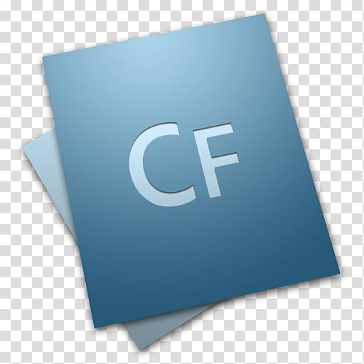 Adobe Creative Suite Icons, ColdFusion CS transparent.