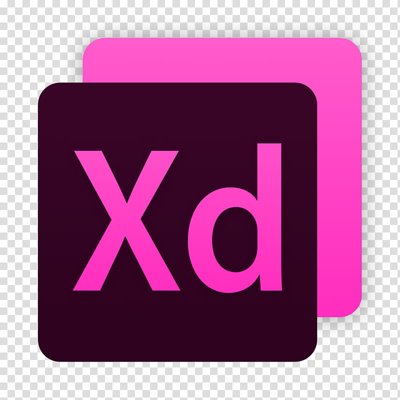 Adobe Suite for macOS , XD transparent background PNG.