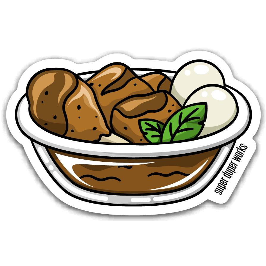 The Adobo Sticker.