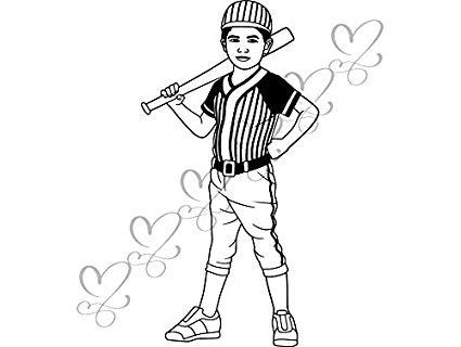Amazon.com: Yetta Quiller Baseball Player Pre Adolescent.