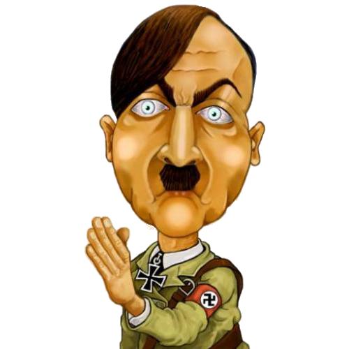 Adolf hitler clip art.